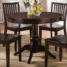 Steve Silver Candice Round Dining Table In Dark Espresso Steve Silver  Furniture Http://