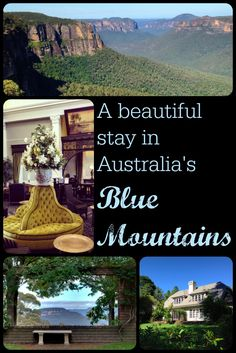 A beautiful stay in the Blue Mountains, and why it's so good to get out of Sydney and head to those mountains.
