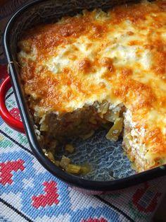 Ízőrző: Húsmentes rakott zöldbab Vegas, Vegetarian Recipes, Healthy Recipes, Lasagna, Paleo, Food And Drink, Lunch, Dinner, Vegetables