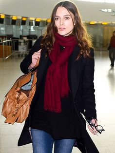 Star Tracks: Friday, January 9, 2015 | IN PLANE SIGHT  | Mom-to-be Keira Knightley – also presumably en route to L.A. for the Globes – strolls through the airport in London on Thursday.