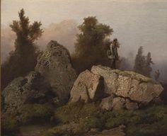 Josef Matěj Navrátil, Hon na lišku, 1850–1853 - Národní galerie v Praze