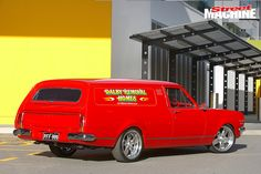 Rob Smiley created the HK Holden never made by combining a ute, van and two wagons to create this custom panel van Australian Muscle Cars, Aussie Muscle Cars, Chevrolet 3100, Chevrolet Trucks, Holden Wagon, Holden Kingswood, Ram Promaster, Custom Muscle Cars, Holden Commodore