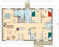 New House Plans, Facade House, Future House, New Homes, Floor Plans, Flooring, How To Plan, Architecture, Building