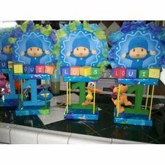 Centros De Mesas Infantiles,baby Shower - Bs. 12.500,00