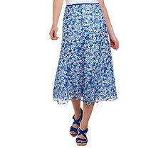 Floral Midi Skirt $33