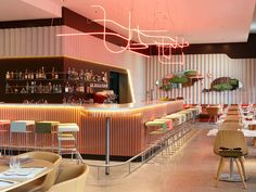 Restaurant Neni, the 25hours Hotel in in Zurich-West