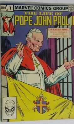 THE LIFE OF POPE JOHN PAUL II  #1 MARVEL COMICS JOE SINNOTT ART 1982 | Collectibles, Comics, Modern Age (1992-Now) | eBay!