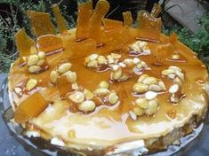 Greek Sweets, Greek Desserts, Party Desserts, Greek Recipes, Dessert Recipes, Cyprus Food, Greek Cooking, Icebox Cake, Sweet Pie