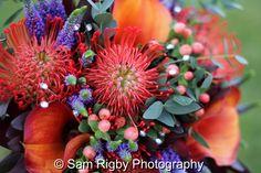 Boc Boc Florist (www.bocboc.com) at the Wedding of Sam & Mark Magson, 11th October 2014 - Sam Rigby Photography
