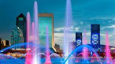 Friendship Fountain, Jacksonville,  Florida, USA