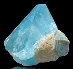 The 46 best minerals images on pinterest gemstones crystals and deep sky blue topaz crystal with attached amazonite zapot mine nevada fandeluxe Images