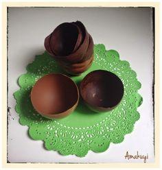 Vajilla de chocolate en 5 minutos | Aprender manualidades es facilisimo.com