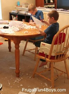 How to Cut and Fold Awesome Paper Snowflakes - Frugal Fun For Boys