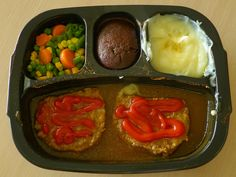 Make your own TV dinners using leftovers. Duh, why didn't I think of this?