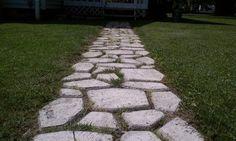 16 DIY Pathway Ideas