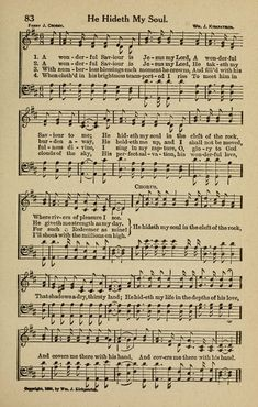 A wonderful Saviour is Jesus my Lord....My favourite Hymn