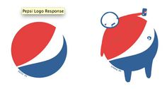 Pepsi redesign logo. Love the mocking aspect of this.