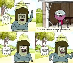 "You know that nothing can stop a great ""my mom"" joke. 