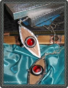 Replica of the Prop Eye of Horus Necklace  from the Show House of Anubis like Nina's Locket on Etsy, $22.99