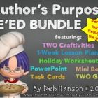 This bundled product takes the PIE approach to teaching author's purpose a step further.  Students are taught to determine whether an author's purp...