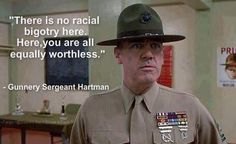 Full Metal Jacket movie - one of the best movie lines Military Quotes, Military Humor, Military Life, Usmc Quotes, Usmc Humor, Once A Marine, Marine Mom, Marine Corps Humor, Us Marine Corps