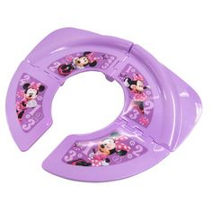 Disney Winnie Pooh Baby Kids Foldable Travel Toilet Seat Trainer Attachment