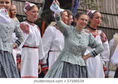 Detva Slovakia July 11 Dancers Participate: stock fotografie (k okamžité úpravě) 57100534