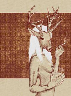 illustration-femme-the-white-deer-2