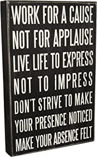 This would be a wonderful cheerful and inspirational quote picture to put in my home.Primitives by Kathy Classic Box Sign, x Live Life Wisdom Quotes, True Quotes, Great Quotes, Quotes To Live By, Motivational Quotes, Inspirational Quotes, Live Your Life, Decoration Ikea, Life Hacks