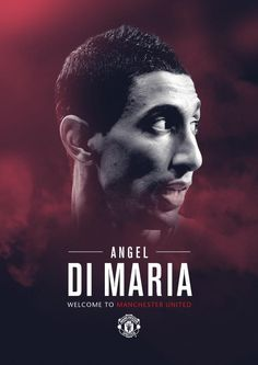 Manchester United Signed Midfielder Angel Di Maria - War Of Hearts and Minds Madrid Football Club, Best Football Team, Football Soccer, Barcelona Players, Real Madrid Players, Manchester United Team, Kun Aguero, Hero Poster, Soccer Poster