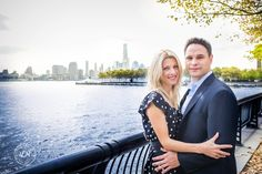 Hoboken Engagement Shoot- Waterfront Session   www.lindseyreedphotography.com