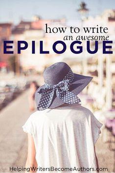 how to write a good epilogue