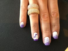 Heather on Earth. Music fuels the soul. Shellac manicure with music note designs