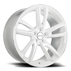 Ace Scorpio - White w/ Machine Face Wheel Warehouse, Chevrolet Corvette C4, White Rims, Rims For Cars, Truck Tyres, Custom Wheels, Subaru Wrx, Scorpio, Volkswagen