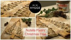 Learn how to make this Pinterest inspired Nutella filled pastry Christmas Tree. Great to bring to Christmas parties or tare and share with friends!