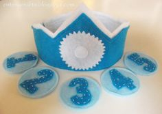 Boy Birthday Crown and a Giveaway! - Cutesy Crafts