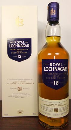Royal Lochnagar, 12 yr old, Single Malt Scotch Whisky