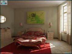 3D Graphic Design  Bedroom