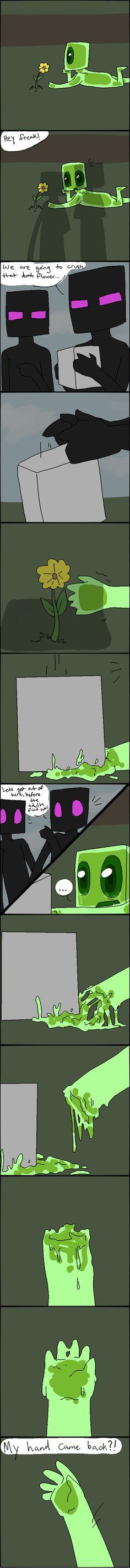 Little Enderslime - Comic by AccursedAsche.deviantart.com on @DeviantArt