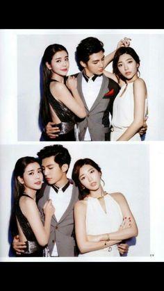 Tia lee, Aaron Yan and Puff guo