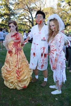 Zombie Belle and Dead Bride
