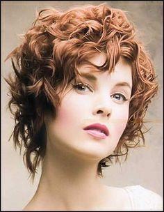 20 Lockige Kurze Haare Bilder für Hübsche Damen // #Bilder #Damen ... | Einfache Frisuren