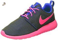 Nike Women's Wmns Rosherun, HYPER COBALT/HYPER PINK-VOLT-BLACK, 7 US - Nike sneakers for women (*Amazon Partner-Link)
