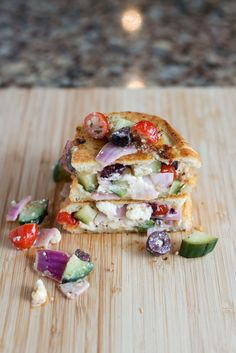 The Greek Grilled Cheese