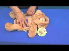 How to Embroider an Embroider Buddy® Stuffed Animal with Deborah Jones of My Embroidery Mentor - Learn more at http://EmbroiderBuddy.com
