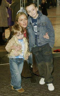 Patsy Kensit: Lennon Francis Gallagher & James Kerr