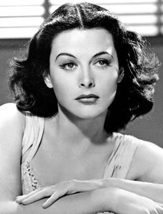 Seriously: Hedy Lamarr – the gorgeous Hollywood actress who also helped to develop modern Wi-Fi.   Publicity photo for Comrade X, 1940Source