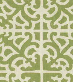 Home Decor Print Fabric-Waverly Parterre Grass