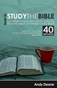My Favorite Three Bible Study methods