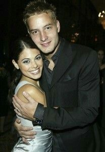 Justin Hartley with then wife & Passions co-star Lindsay Korman (married 2004-2012)